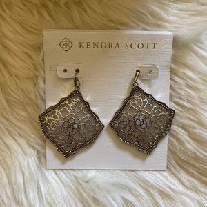 Kendra Scott Kirsten Drop Earring in Silver Filgre